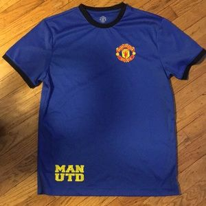 Manchester United Soccer Poly T-shirt